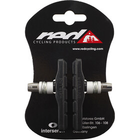 Red Cycling Products V-Brake Brake Pads 72mm black